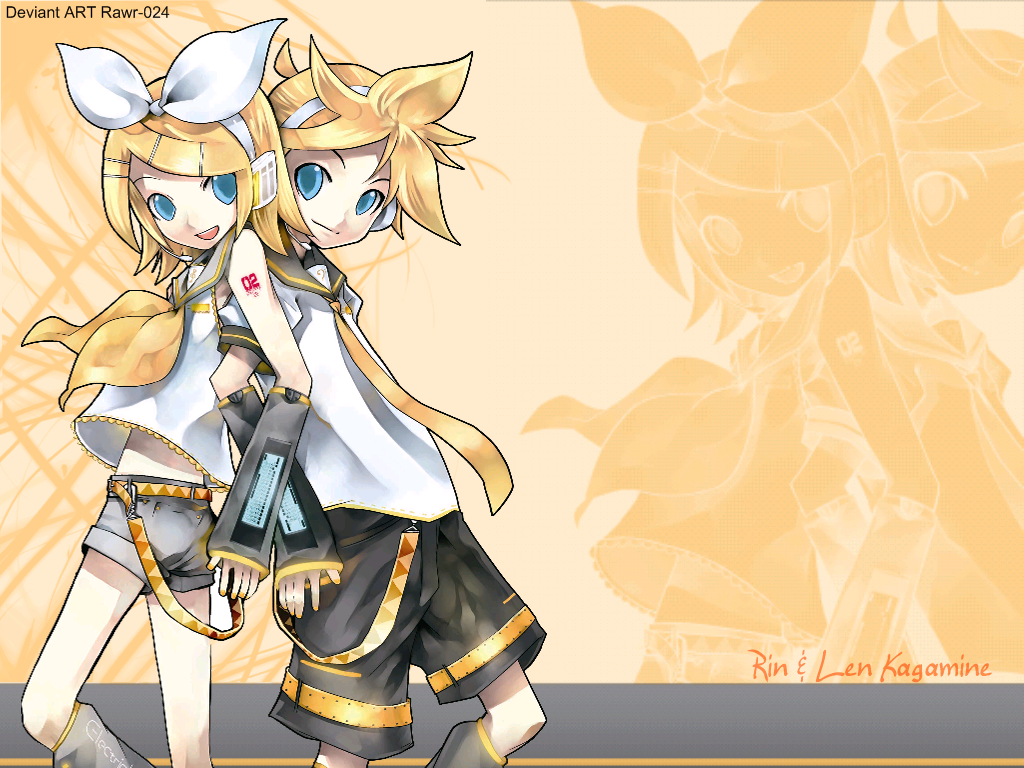 Kaito Rin And Len Wallpaper PicsWallpapercom 1024x768