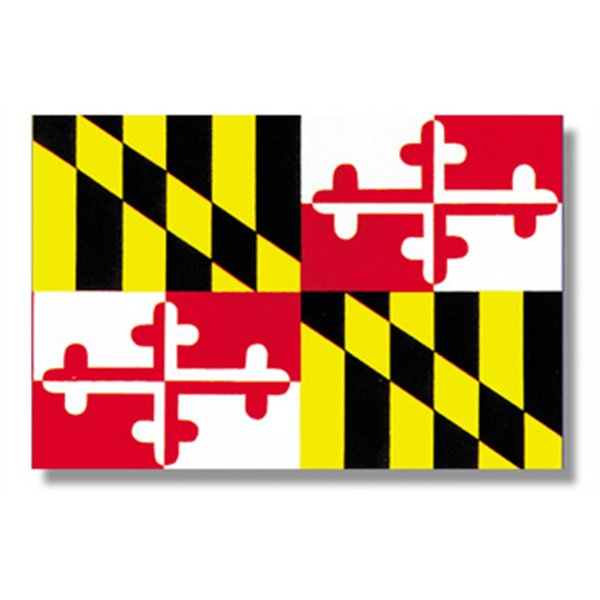 Maryland State Flag 600x600