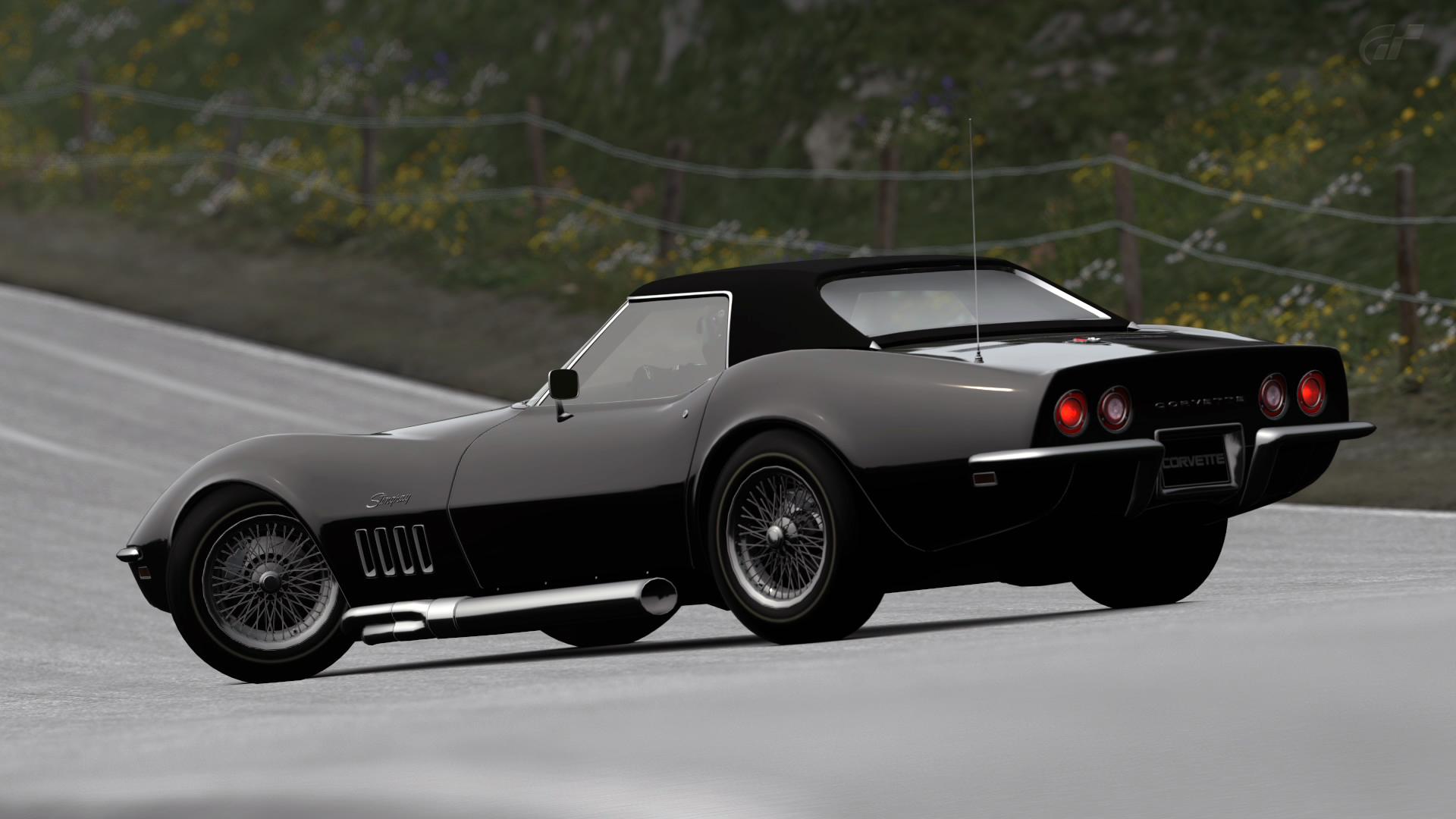 1969 corvette wallpaper wallpapersafari - Corvette Stingray 1969 Wallpaper