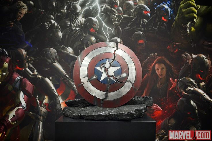 Captain Americas Shield from Marvels The Avengers Age of Ultron 736x491