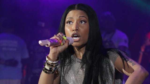 Wallpaper nicki minaj anaconda singer celebrity HD 640x360