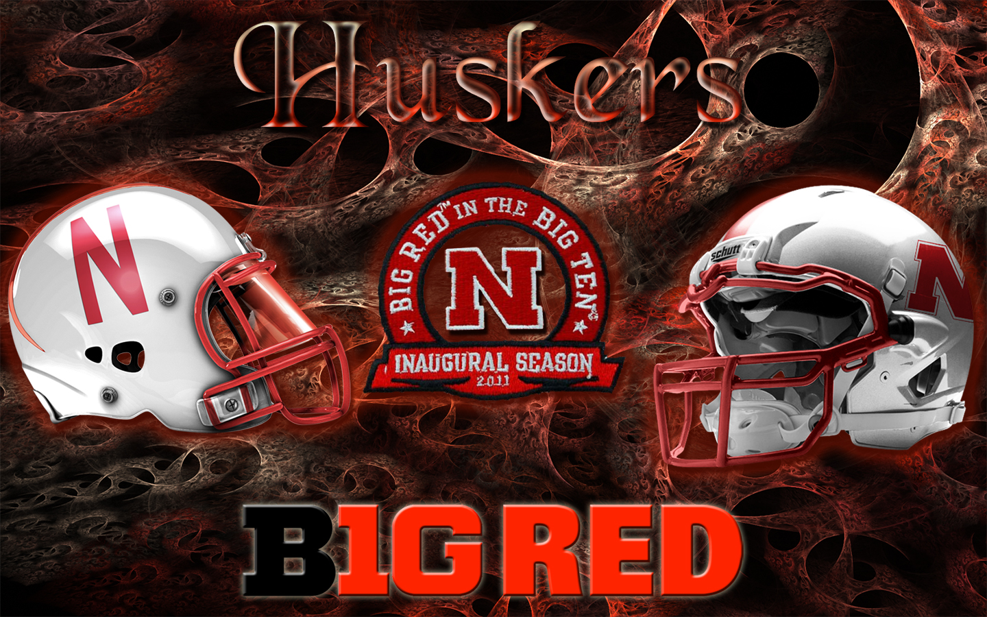 Nebraska Cornhuskers B1G Red Wallpaper Download Wallpaper 1440x900