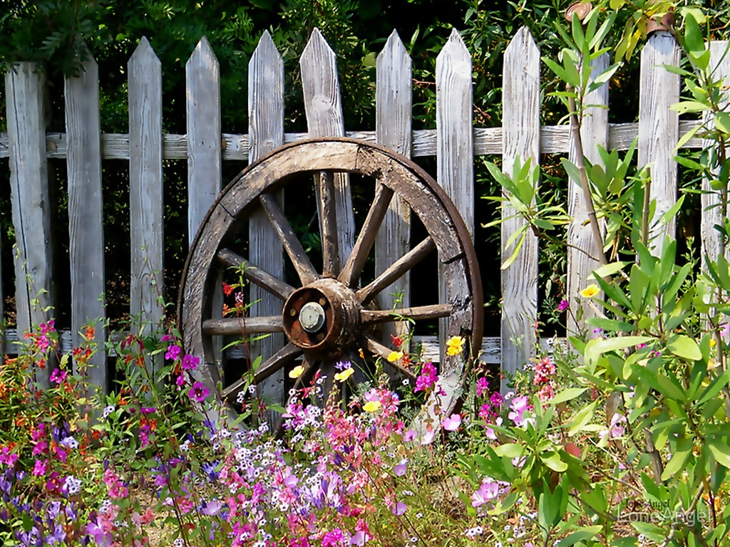 Country Garden Wallpaper Wallpapersafari