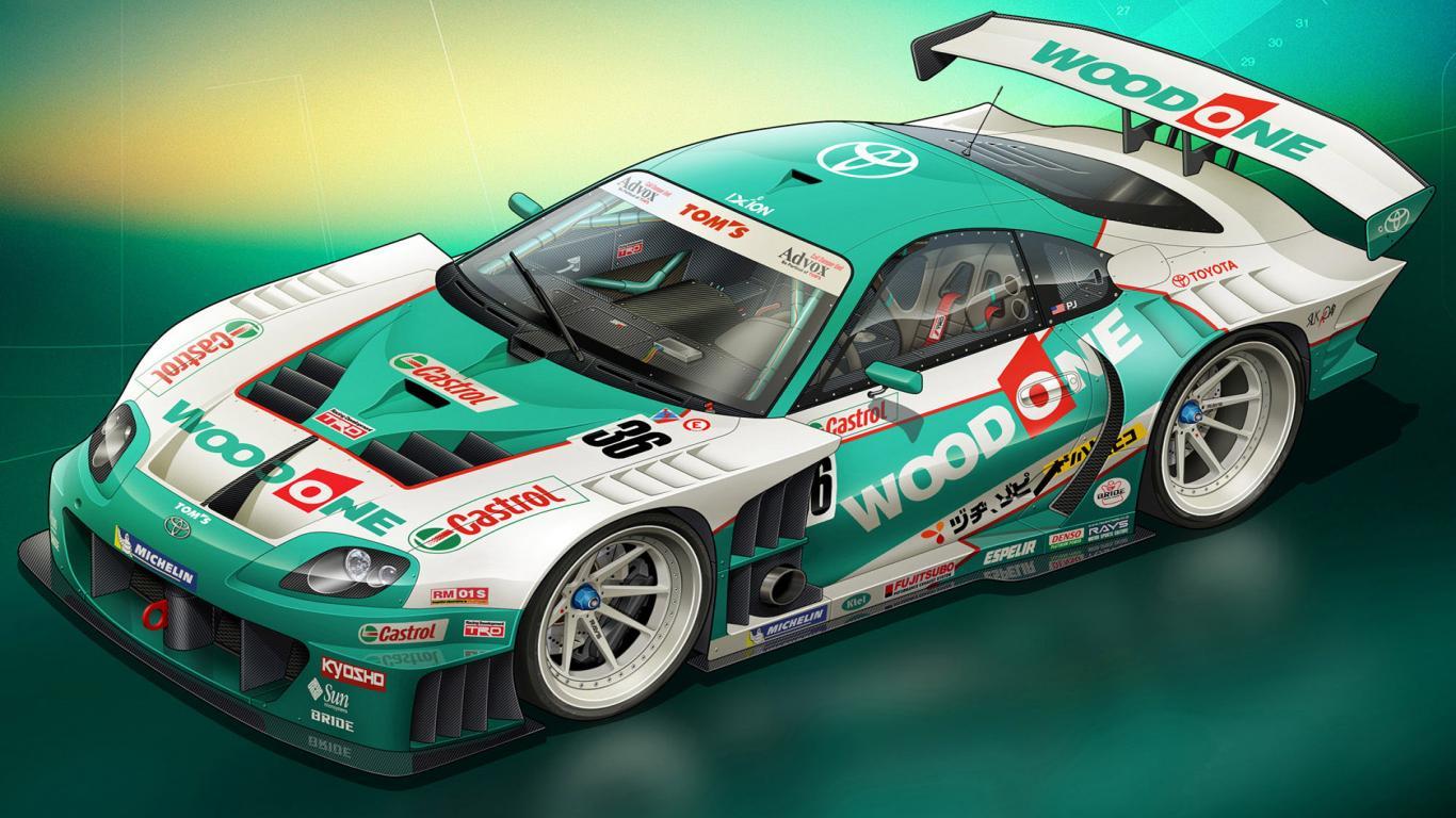 Racing desktop wallpaper wallpapersafari - Car racing wallpaper free download ...