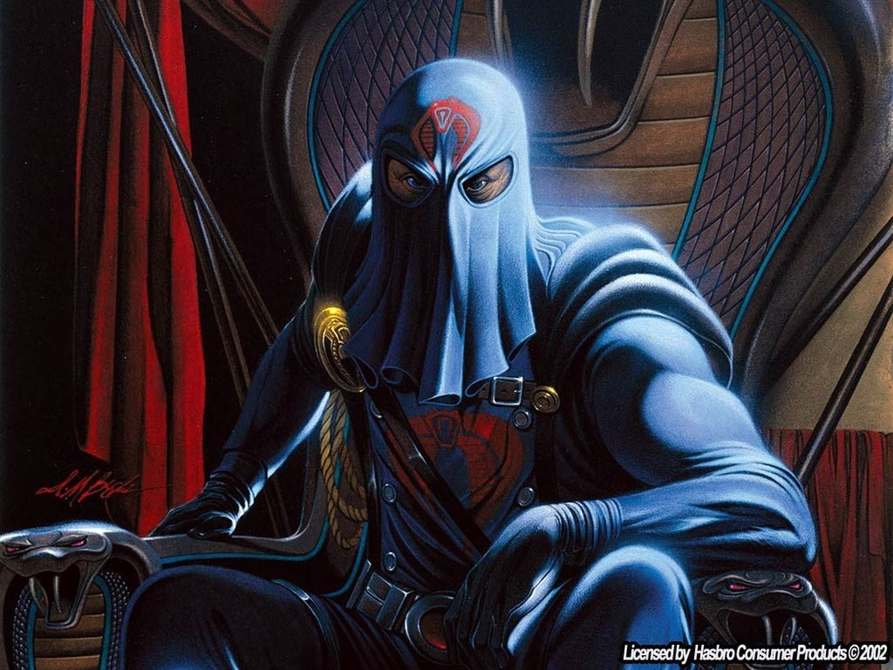 Joe images Cobra Commander wallpaper photos 5206598 1280x960