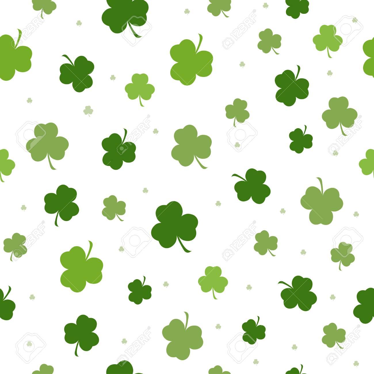 Set Of St Patricks Day Seamless Patterns With Polka Dot Argyle 1300x1298