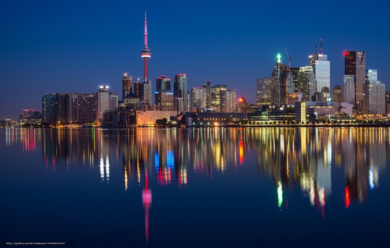 Download wallpaper Toronto Ontario Canada desktop wallpaper in 1600x1017