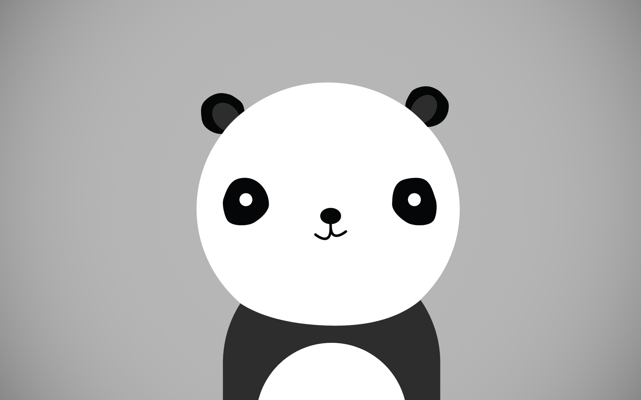 Cute Panda Wallpaper HD 2560x1600