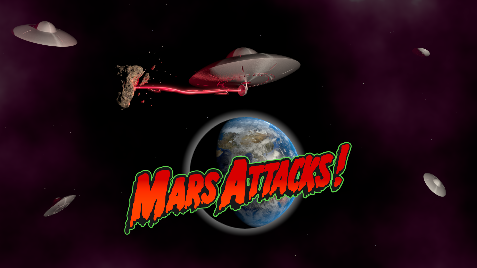 Free Download Mars Attacks Wallpapers 1920x1080 For Your