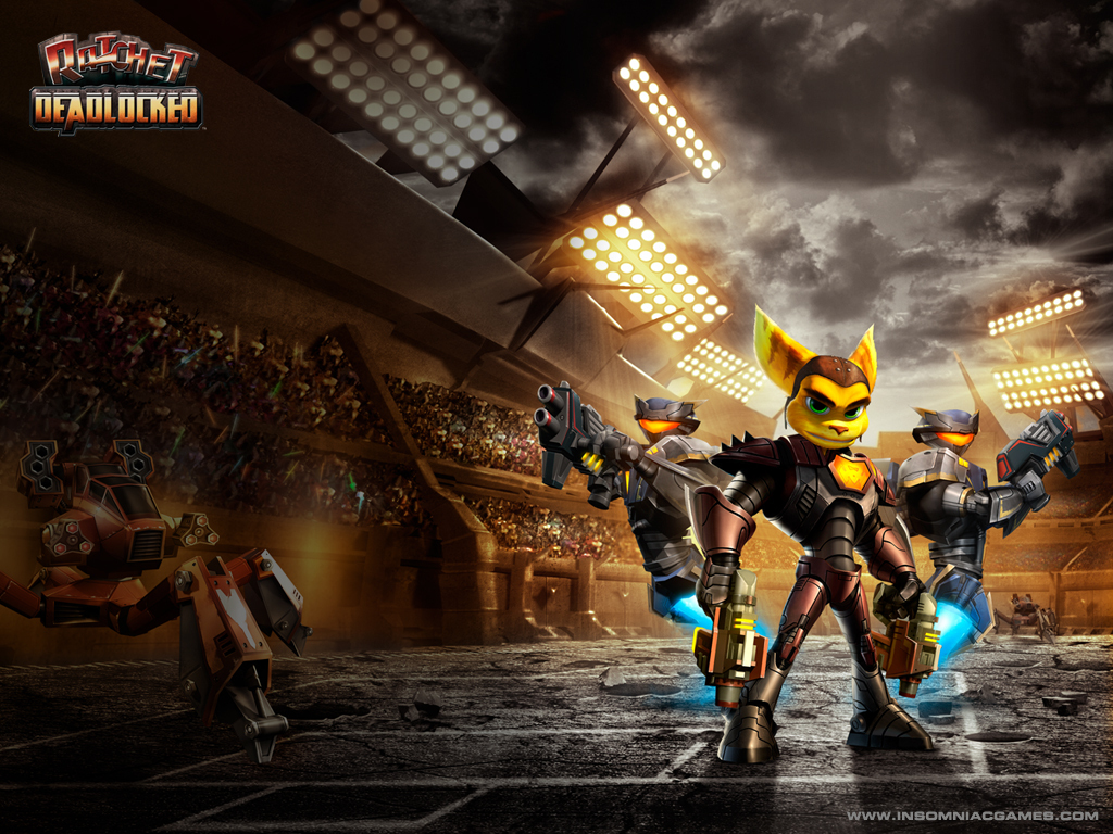 Free Download Ratchet And Clank Club Ratchet Deadlocked 1024x768