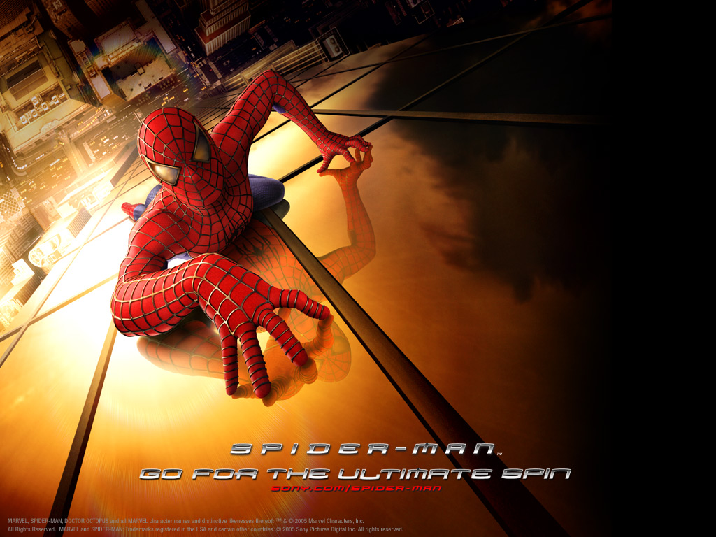 Download wallpapers Spiderman movie wallpapers 1024x768