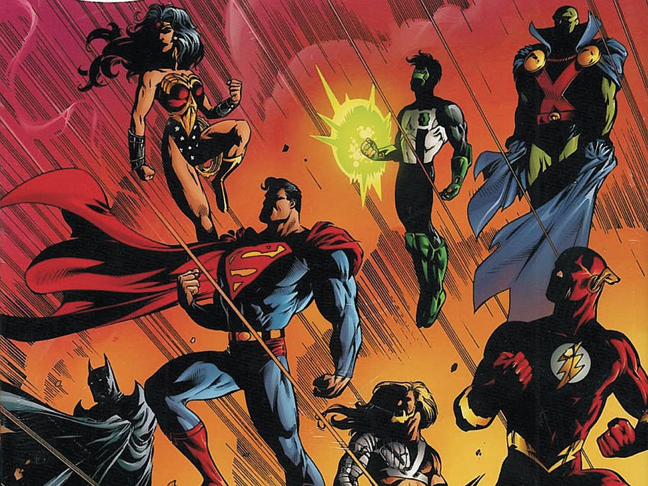 Justice league desktop wallpaper wallpapersafari - League desktop backgrounds ...