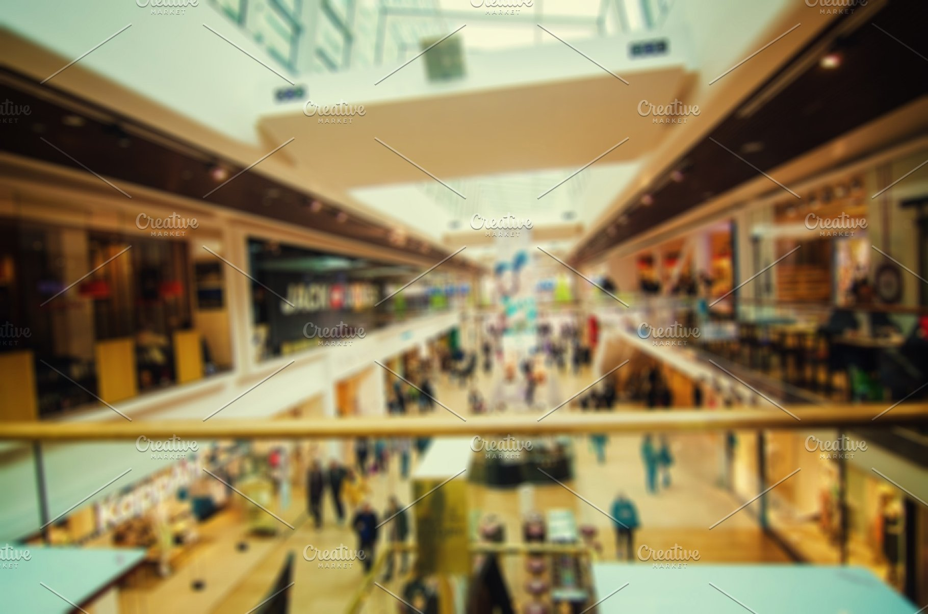 Shopping mall background Architecture Photos Creative Market 1820x1204