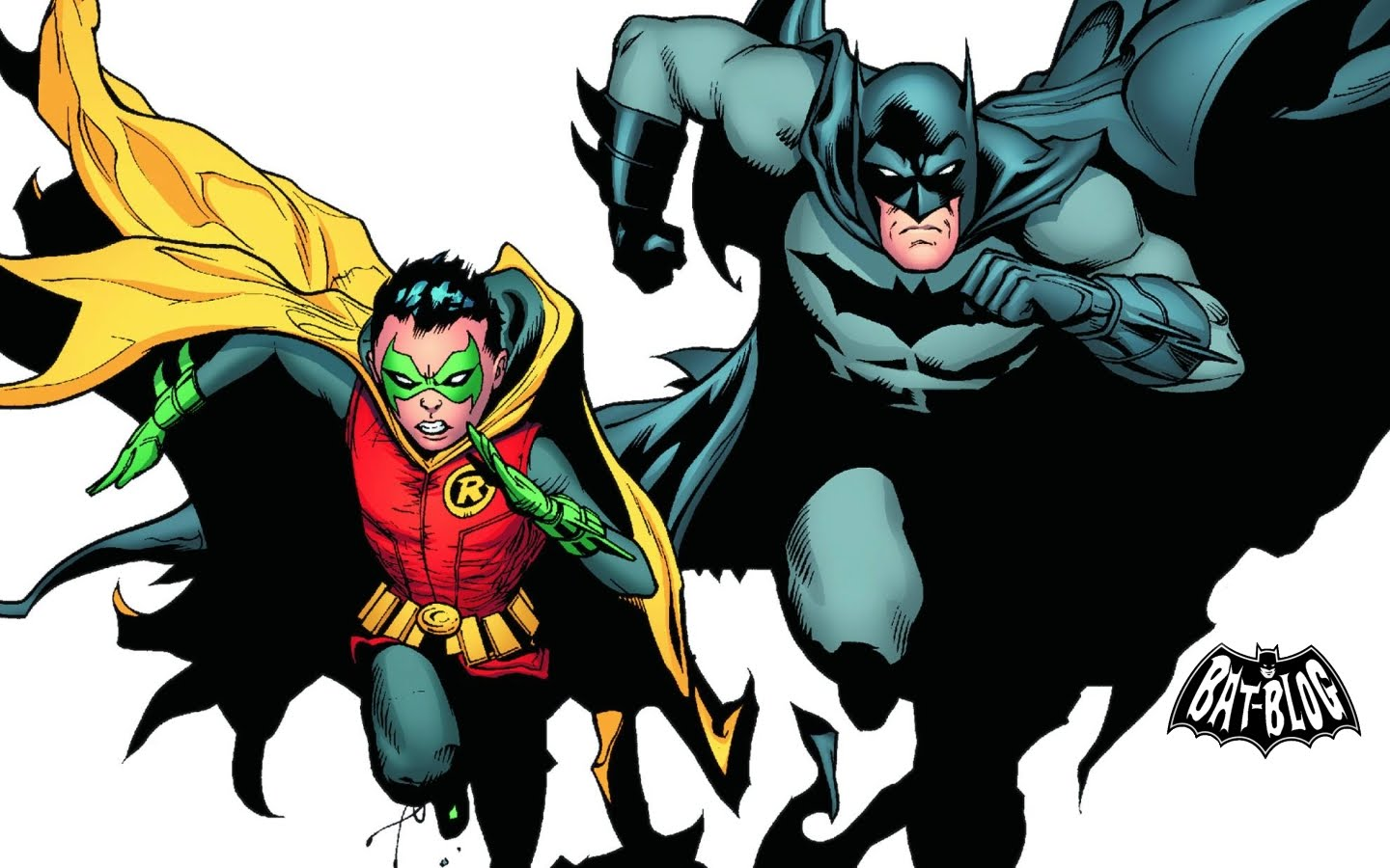 New BATMAN AND ROBIN Comic Book Wallpapers 1440x900