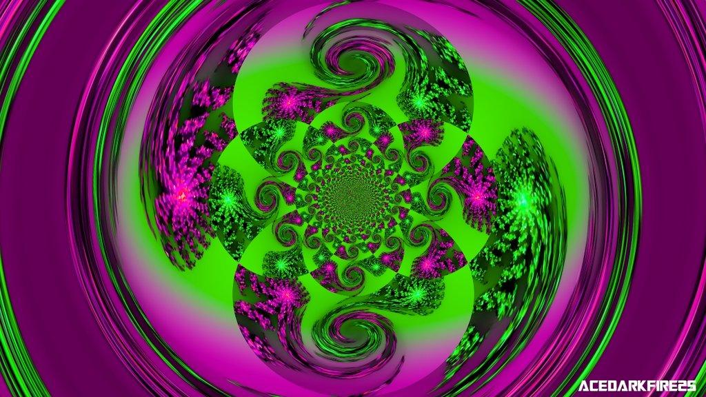 Purple and Green Wallpaper - WallpaperSafari