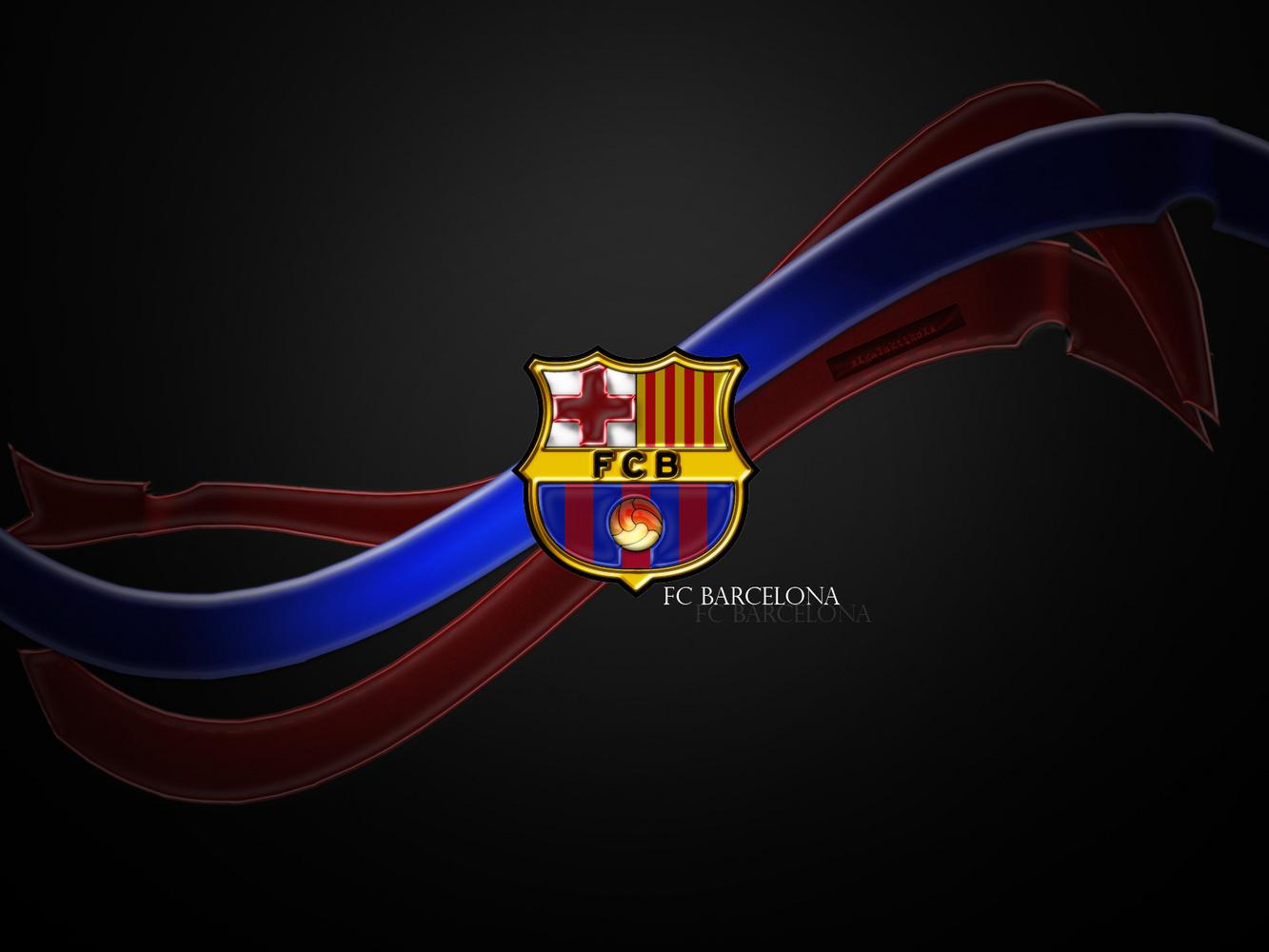 FC Barcelona FC Barcelona Logo Wallpaper 1333x1000