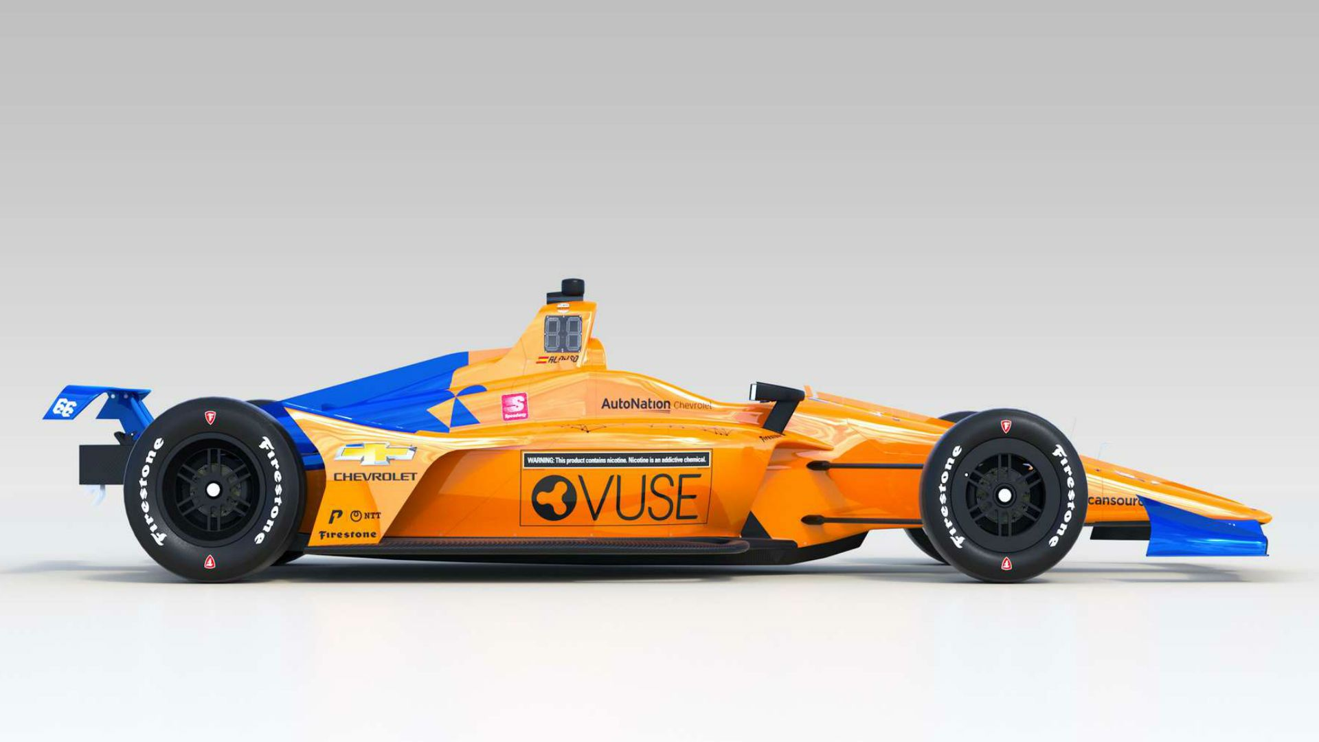 Behold the McLaren Indy Car Fernando Alonso Will Drive at the 2019 1920x1080