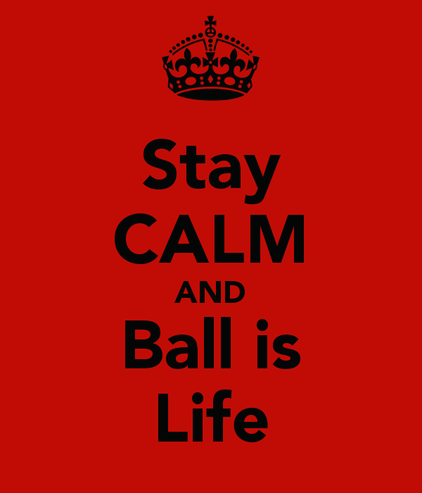 Stay CALM AND Ball is Life   KEEP CALM AND CARRY ON Image Generator 600x700