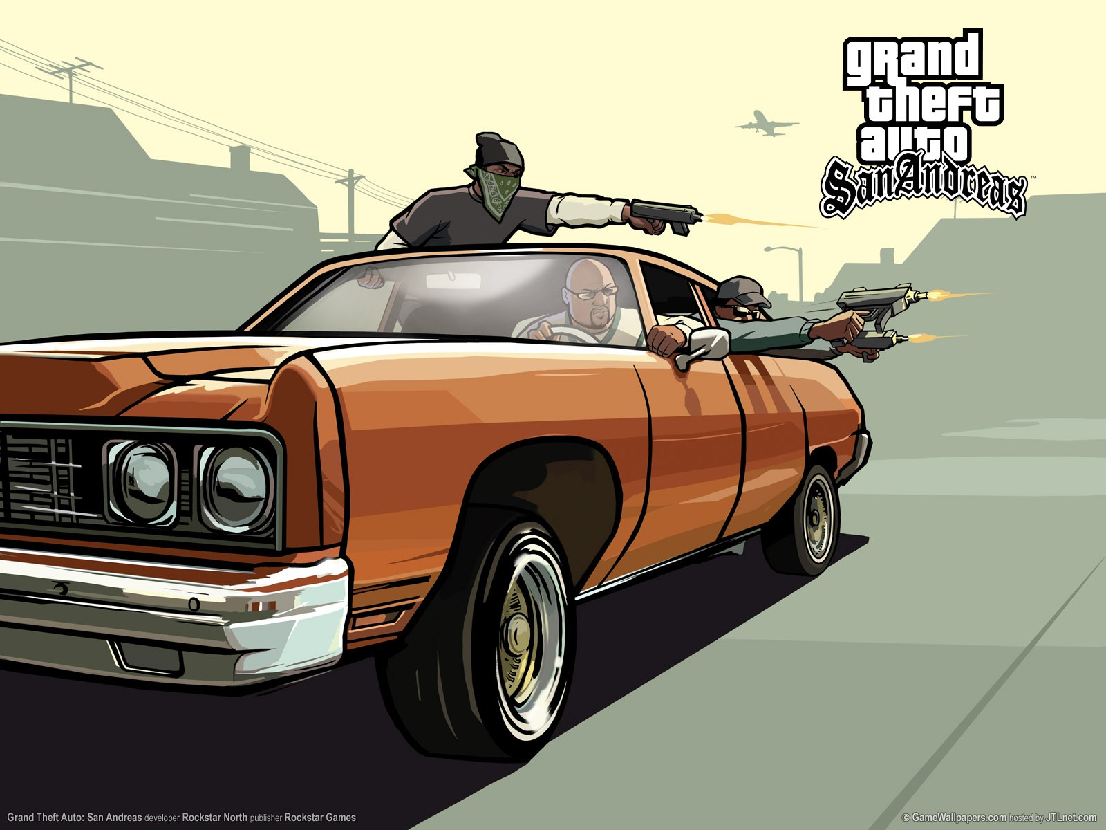 92+] Grand Theft Auto: San Andreas HD Wallpapers on