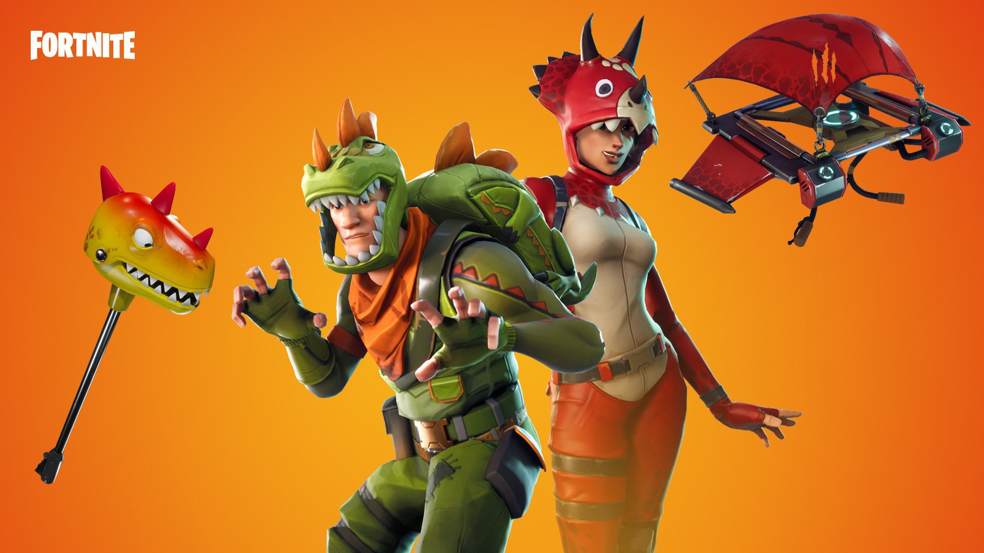 Fortnite Backgrounds Dino Skins 4061 Wallpapers and Stock 1920x1080