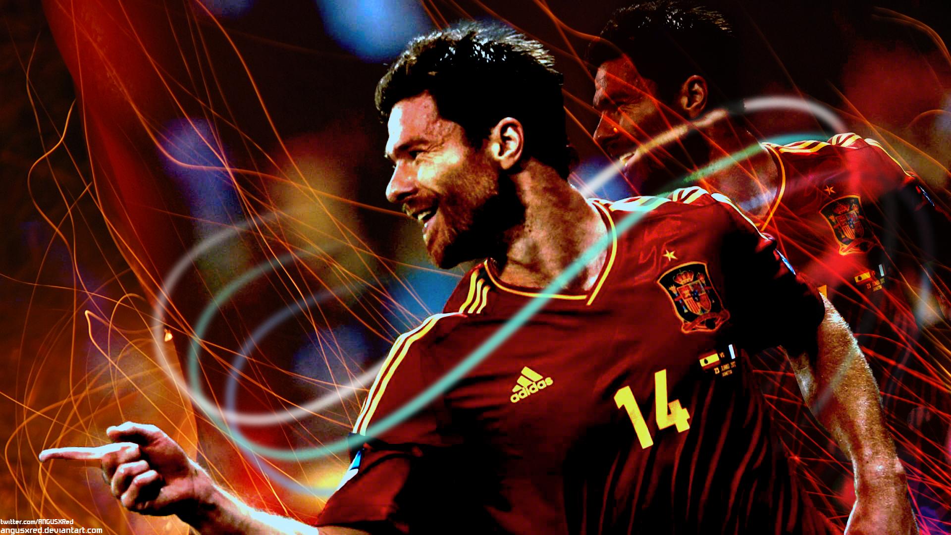 Xabi Alonso 2014 Spain Wallpaper HD   Football HD Wallpapers 1920x1080