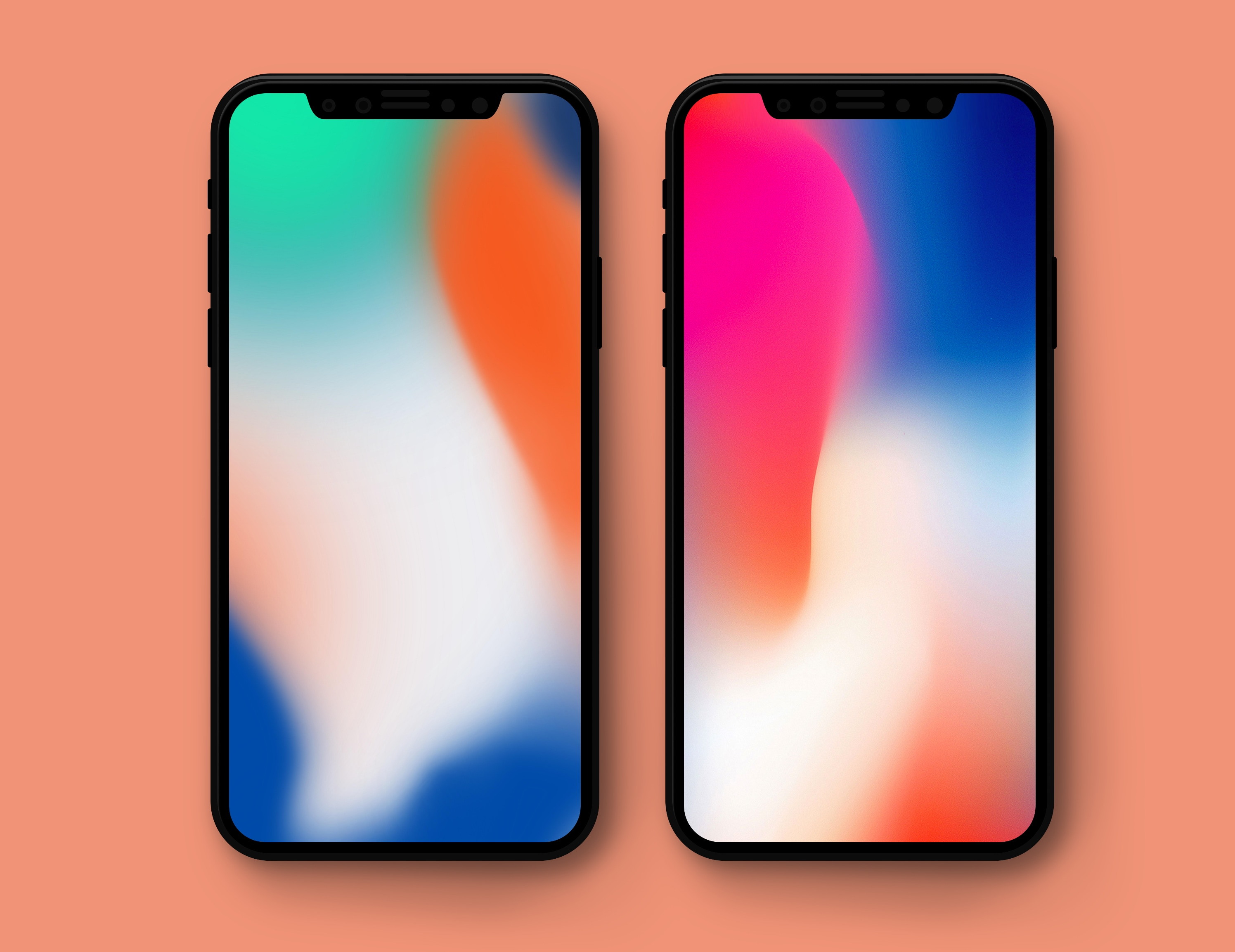 iPhone X flagship advertising wallpapers 2992x2306