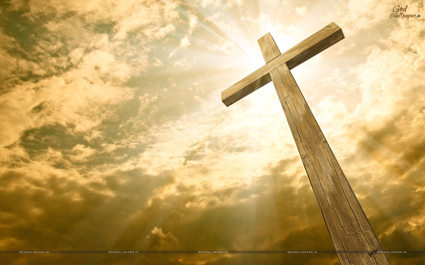 Jesus Cross HD Wallpaper for Desktop Download 1440x900