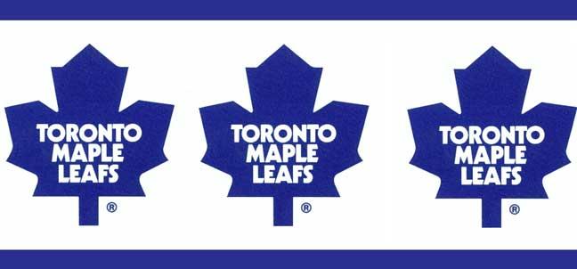 Toronto Maple Leafs Wallpaper Border 648x302