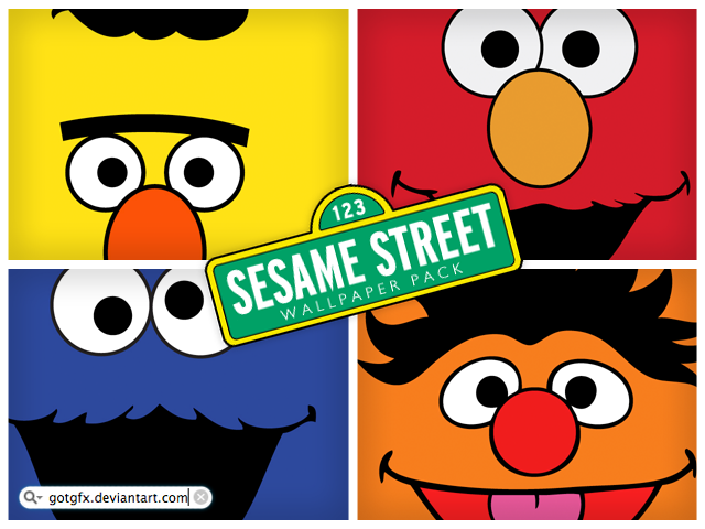 Free Download Thread Sesame Street Wallpaper Pack 640x480