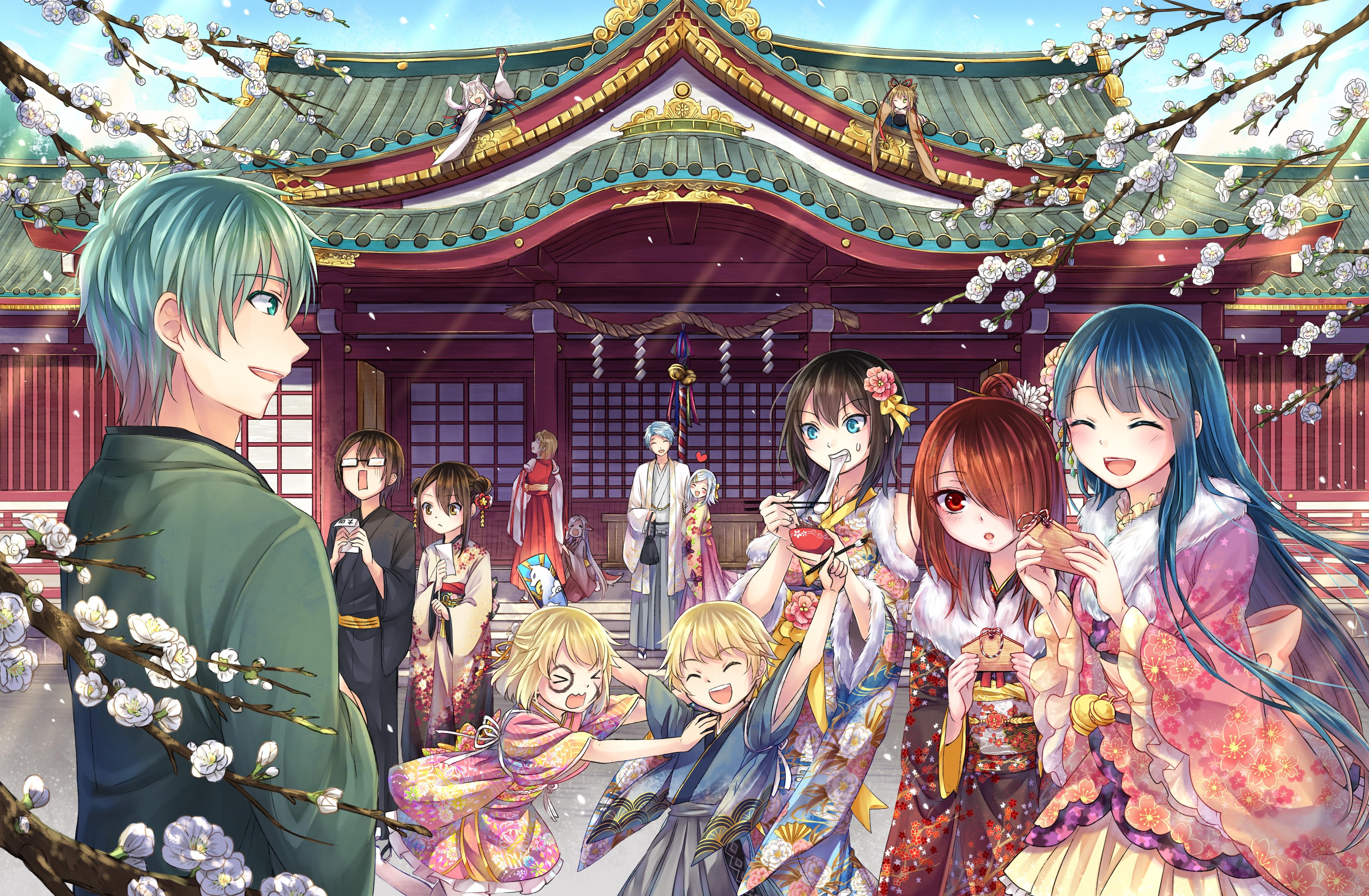 45] Happy New Year 2020 Anime Girl Wallpapers on WallpaperSafari 4688x3070