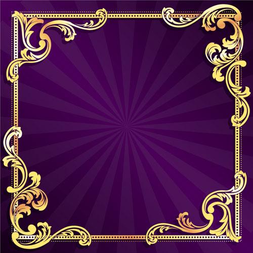Purple Gold Wallpaper - WallpaperSafari