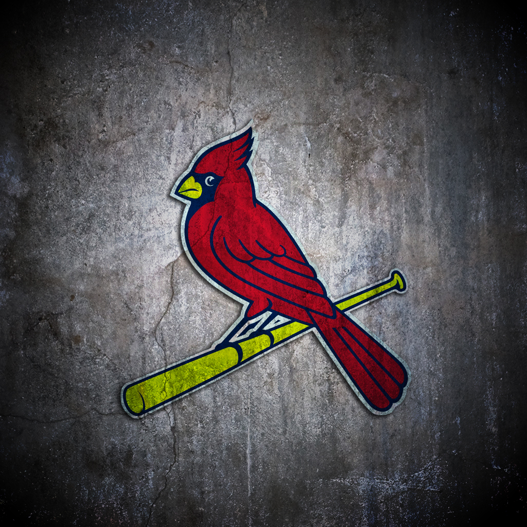 St louis cardinals baseball star wallpaper   3337   HD 1024x1024