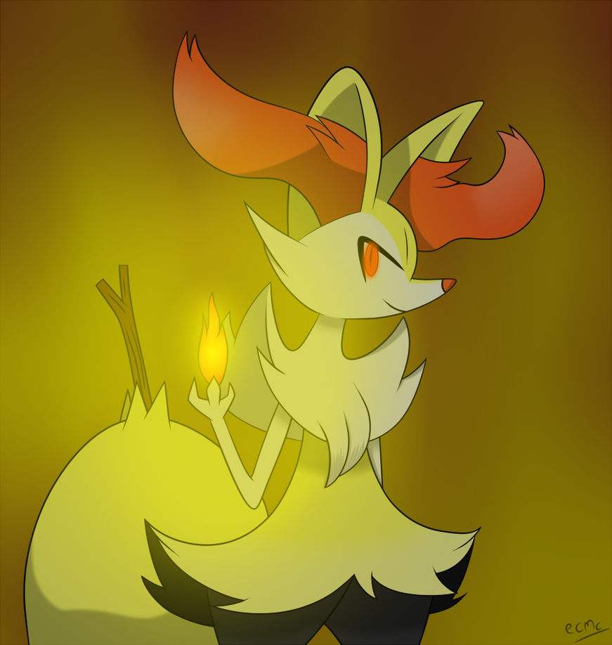 Braixen by ecmc1093 871x918