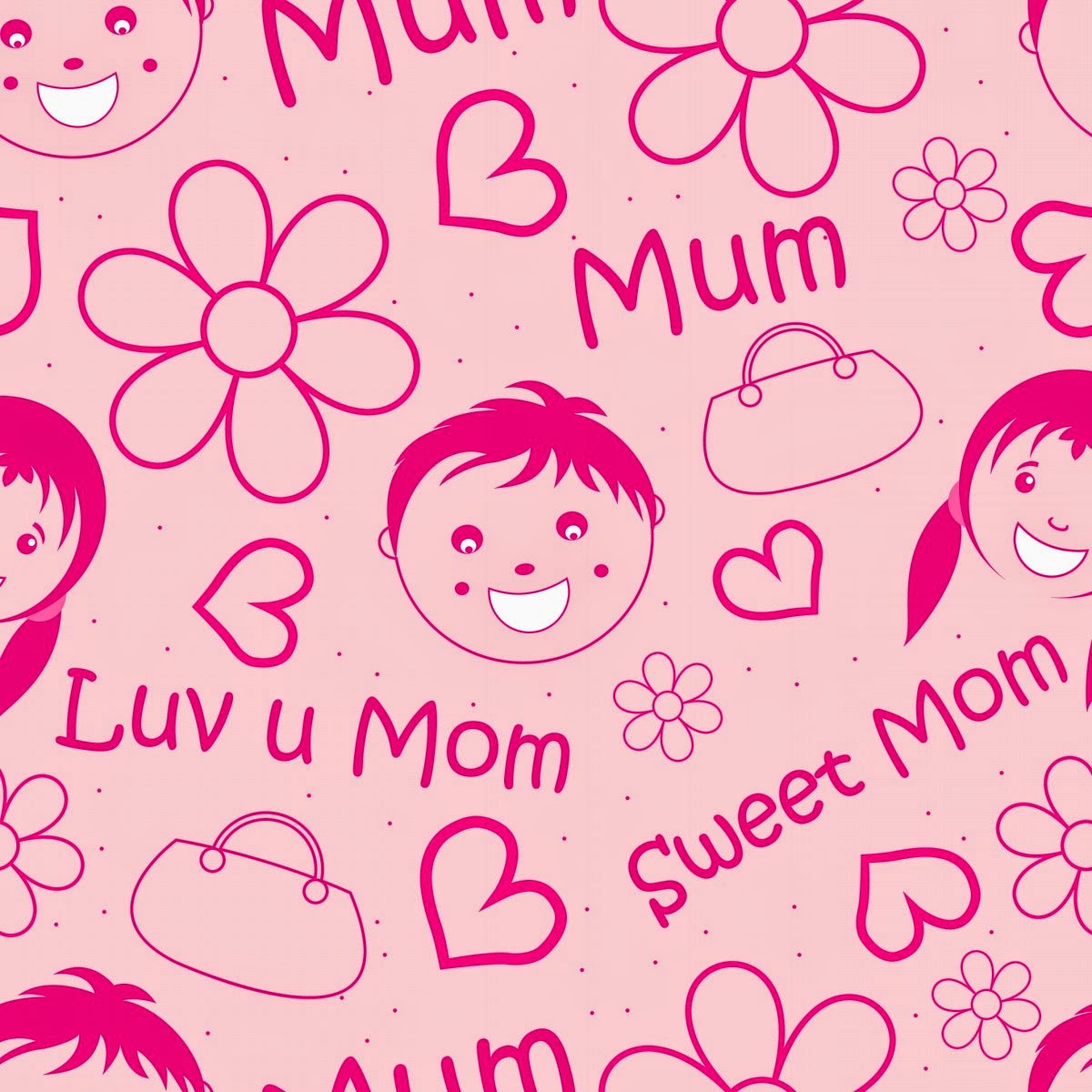 Keep Calm And Love You Mom Dad Apps Directories 1200x1200