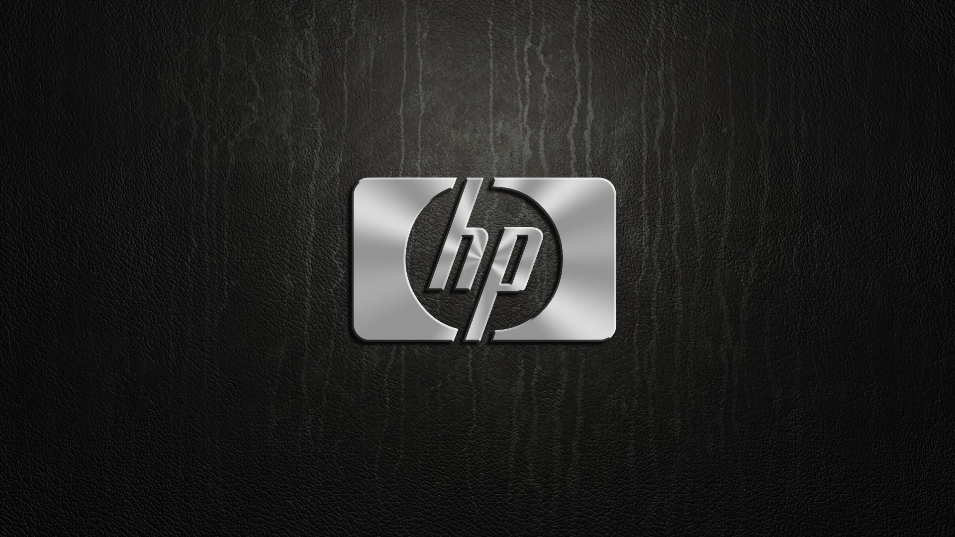 HP Wallpaper, logo, silver - HD Wallpapers, Desktop Wallpaper, Free