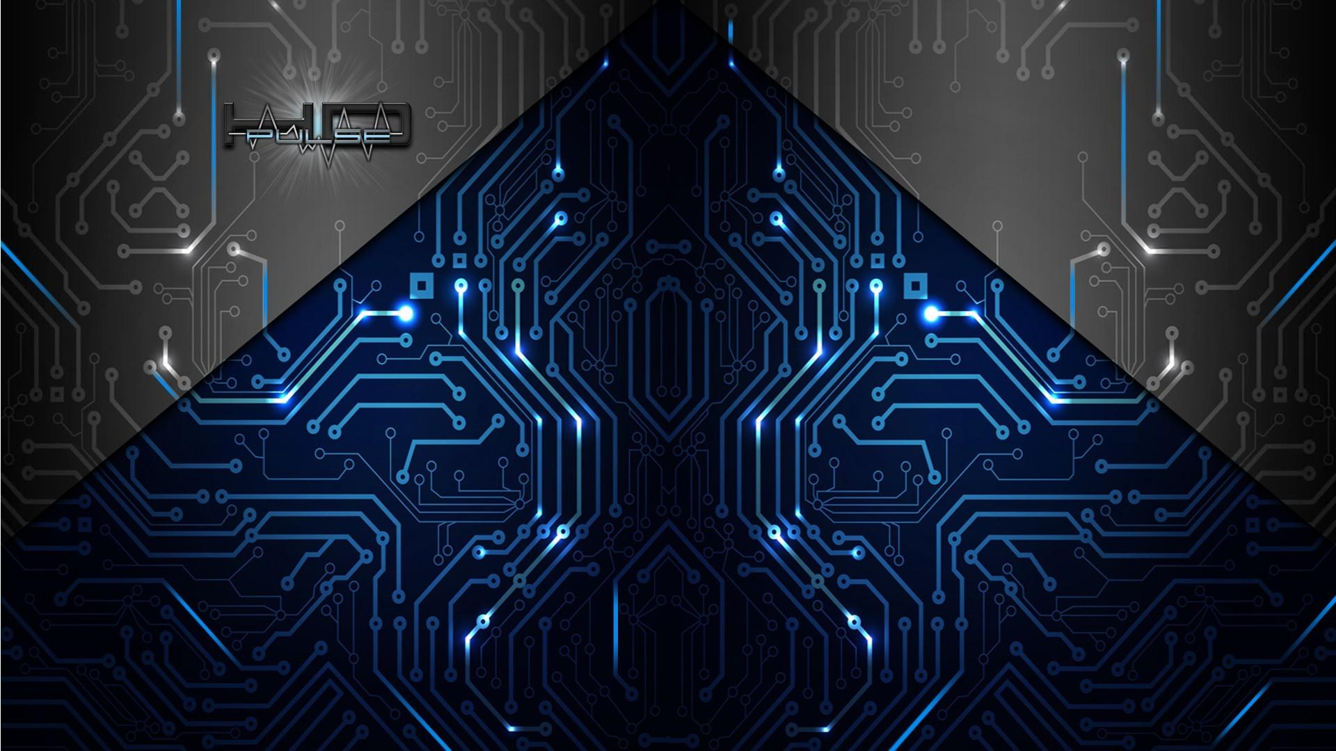 Free Download Abstract Artistic Electronics Circuit Board
