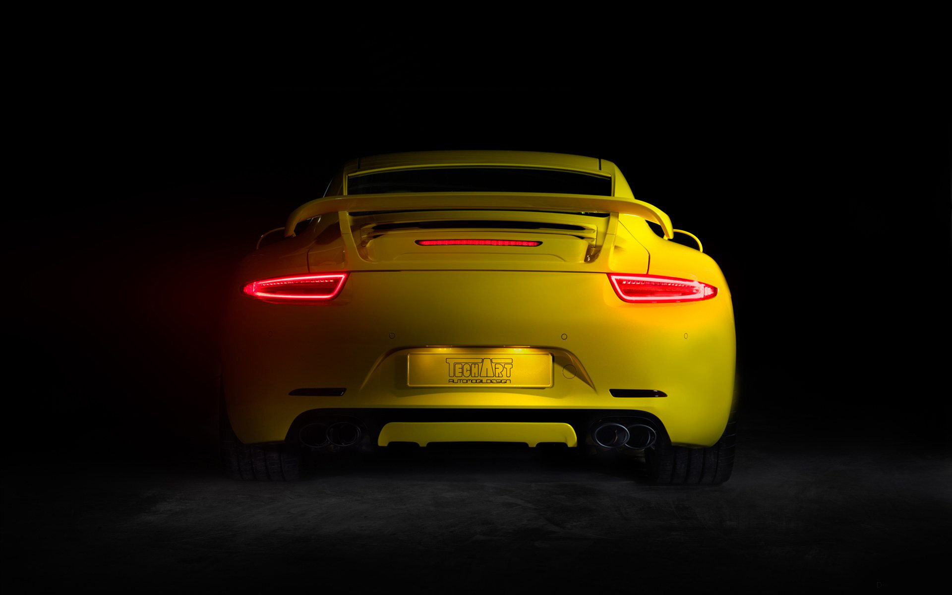 2012 TECHART Porsche 911 3 Wallpaper HD Car Wallpapers 1920x1200