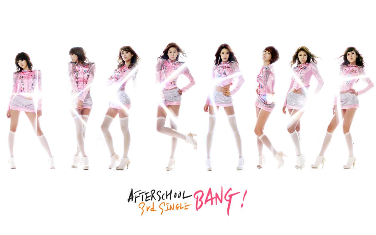 Download After school pink wallpaper 1280x800