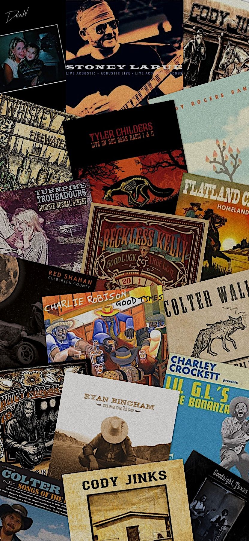 Red Dirt Country Custom Album Wallpaper Red dirt country 831x1800