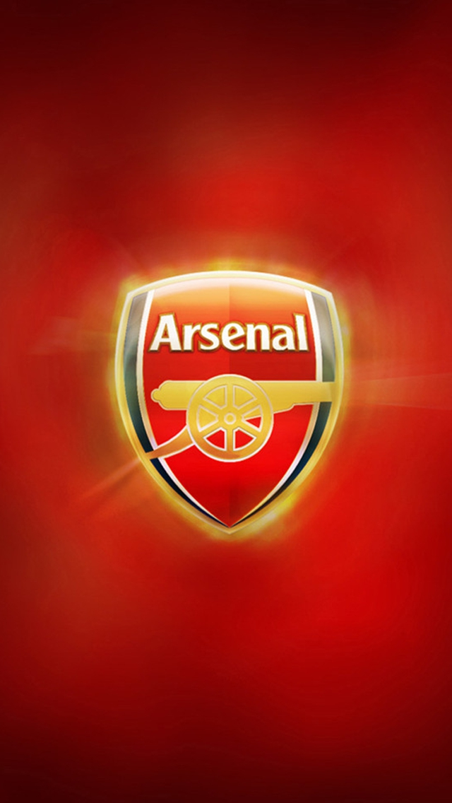 Arsenal FC Logo iPhone 6 6 Plus and iPhone 54 Wallpapers 640x1136