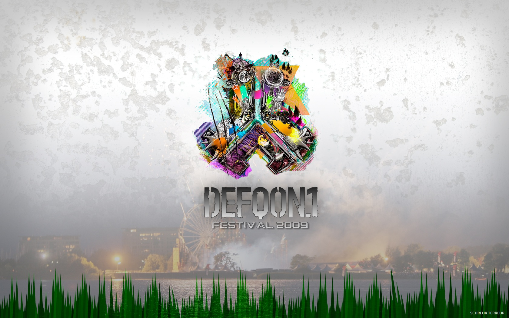 Defqon1 Wallpaper 2009 by Schreur 1680x1050