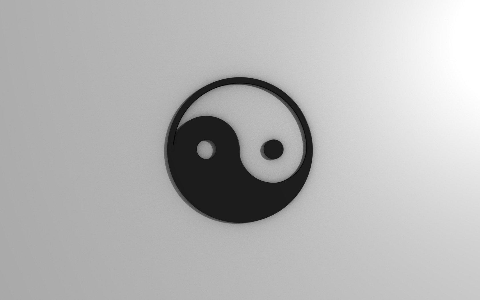 Ying Yang Wallpaper by CorpseArt 1680x1050