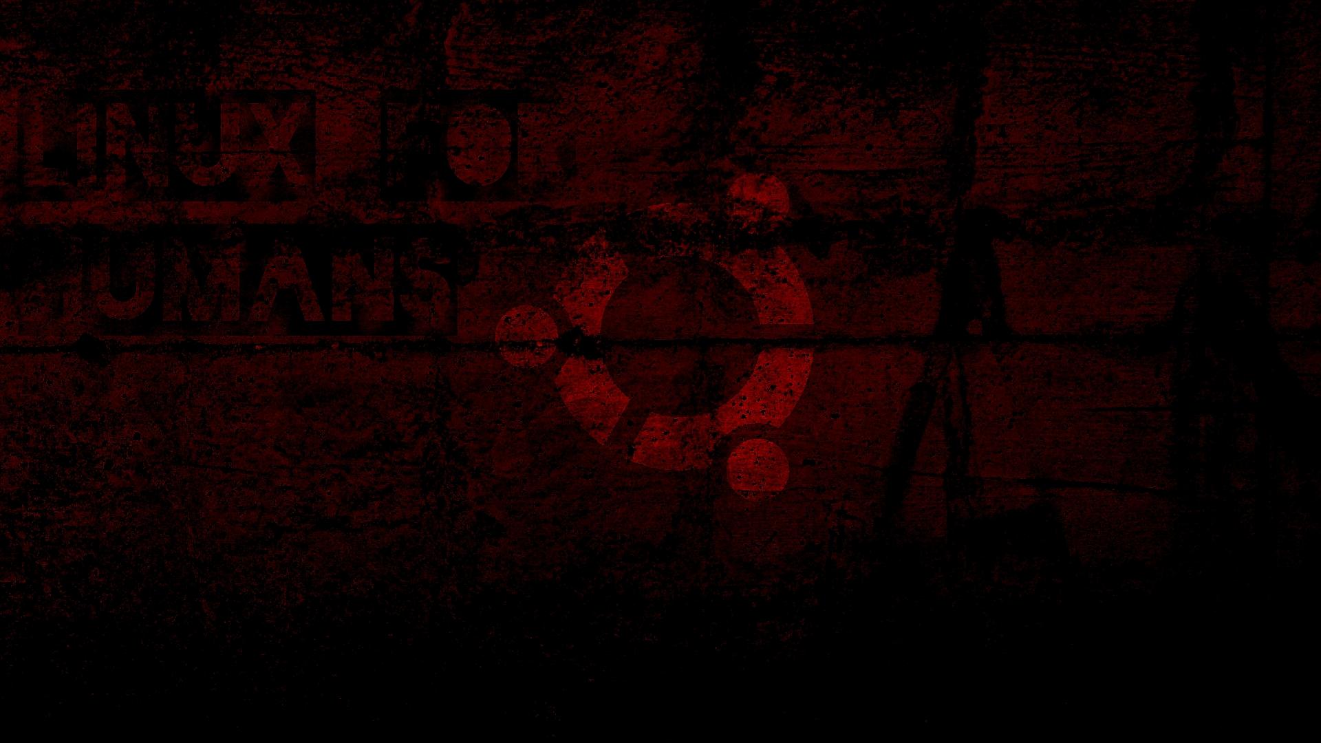 Dark Ubuntu Wallpaper by sev e on deviantART 1920x1080