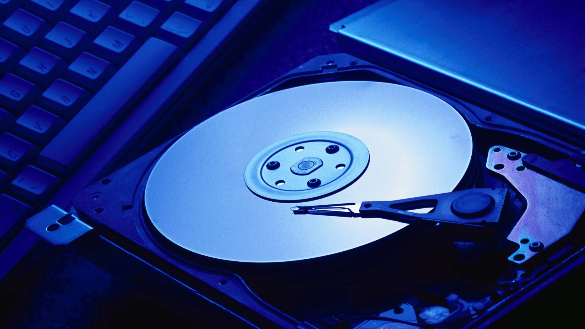 Online data recovery from hard disk