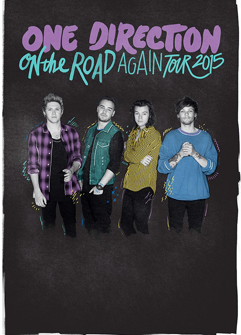 One Direction release their first poster without Zayn Malik for On The 481x668