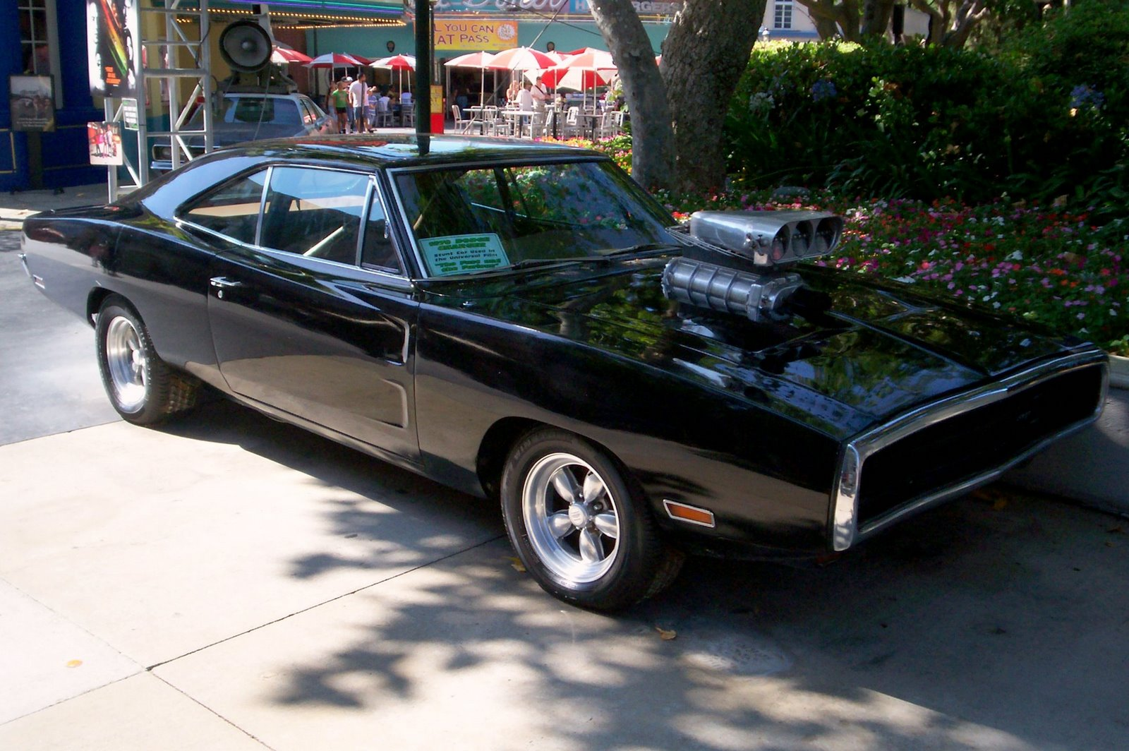 Dodge Charger Black Car Tuning Hd Wallpaper Wall Trends 1600x1064