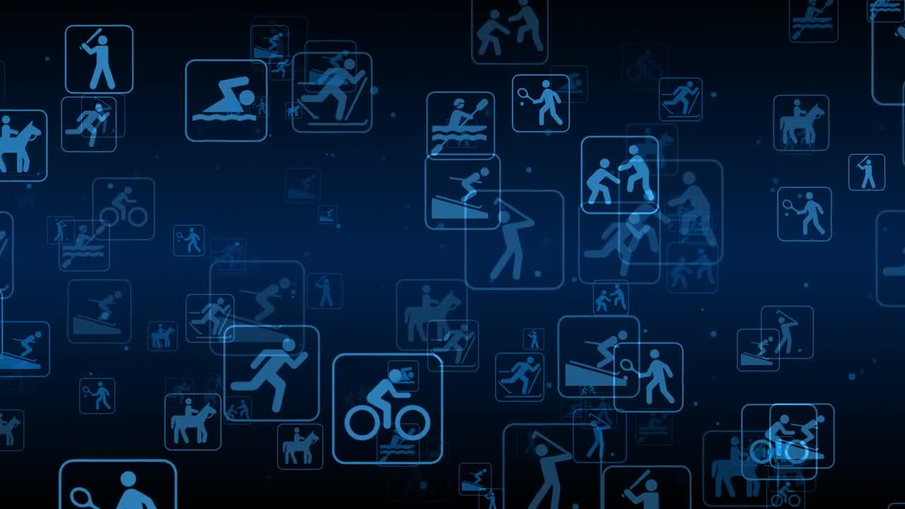 Sports Background Loop   Stock Motion Graphics Motion Array 1280x720