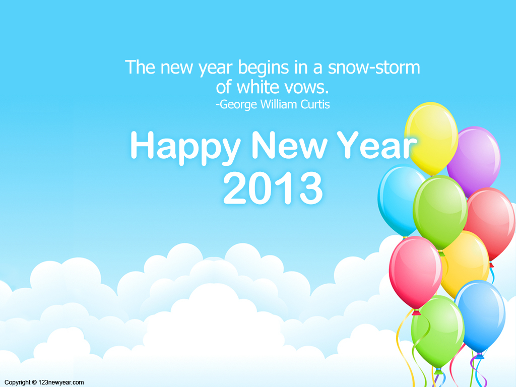 Happy new year wallpaper new year wallpaper 2013 Happy New Year 1024x768