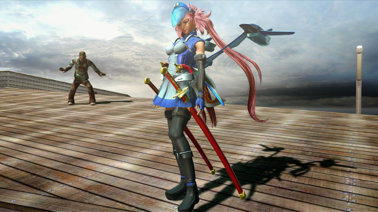 Onechanbara Z2 Chaos for PS4 releases on October 30th 2014 in Japan 1600x900