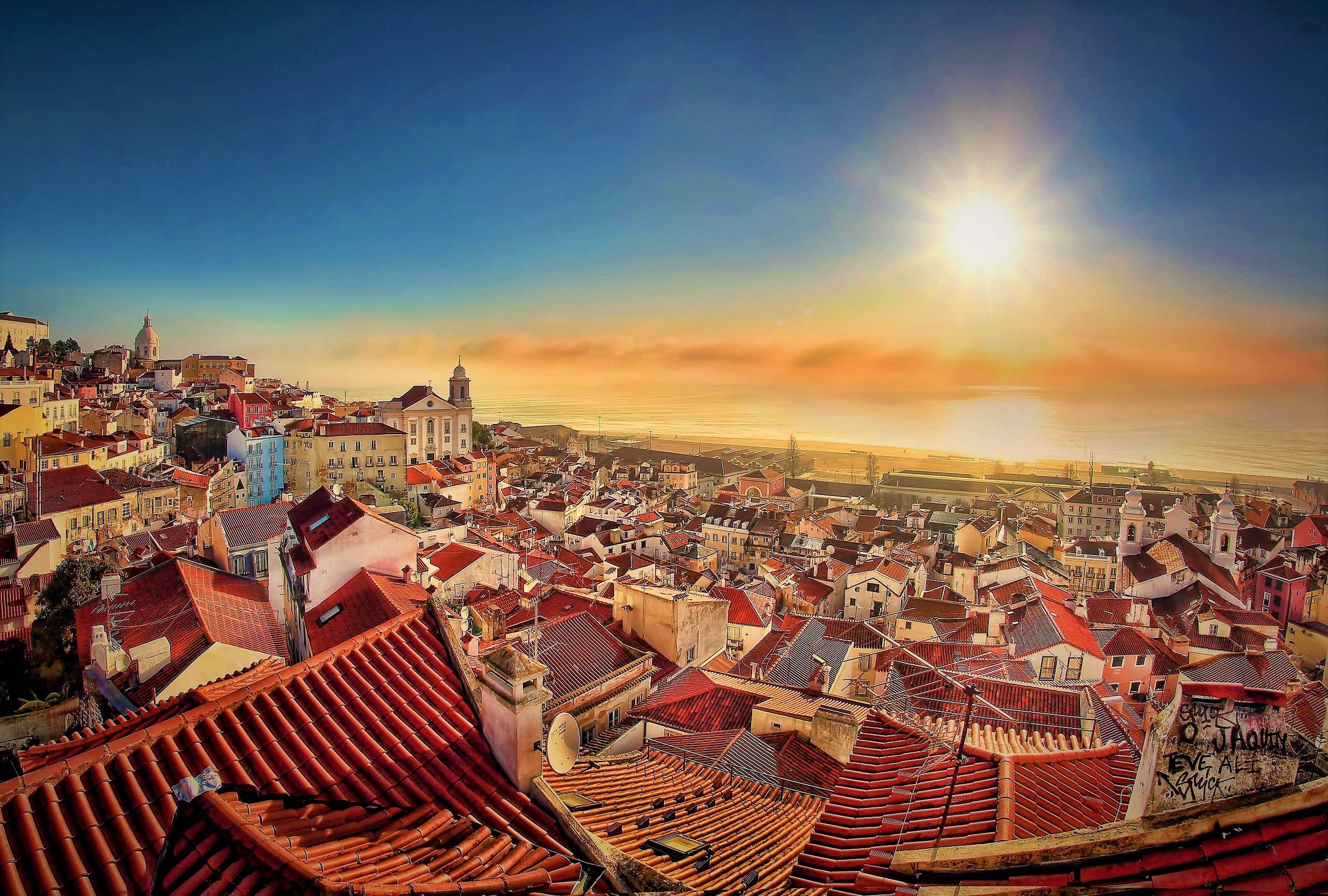 Lisbon Portugal HD Wallpaper Background Image 2560x1727 ID 2560x1727